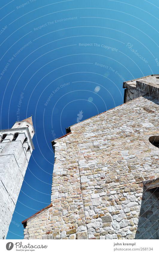 Santa Maria Assunta Stadt Architektur Religion & Glaube Stein Gebäude Fassade Kirche Wandel & Veränderung Hoffnung Turm Italien Schutz Bauwerk historisch
