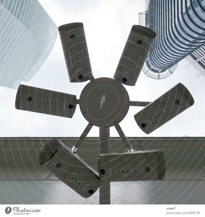 1984 Haus Architektur Gebäude Kraft Ordnung authentisch Perspektive Sicherheit Technik & Technologie Neugier Fotokamera Bauwerk Dienstleistungsgewerbe skurril Videokamera Präzision