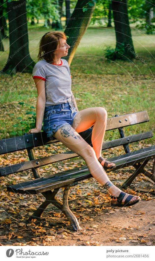 let the sunshine in your hear - [LS155] Frau Ferien & Urlaub & Reisen Jugendliche Junge Frau Sommer schön 18-30 Jahre Lifestyle Erwachsene Leben Herbst