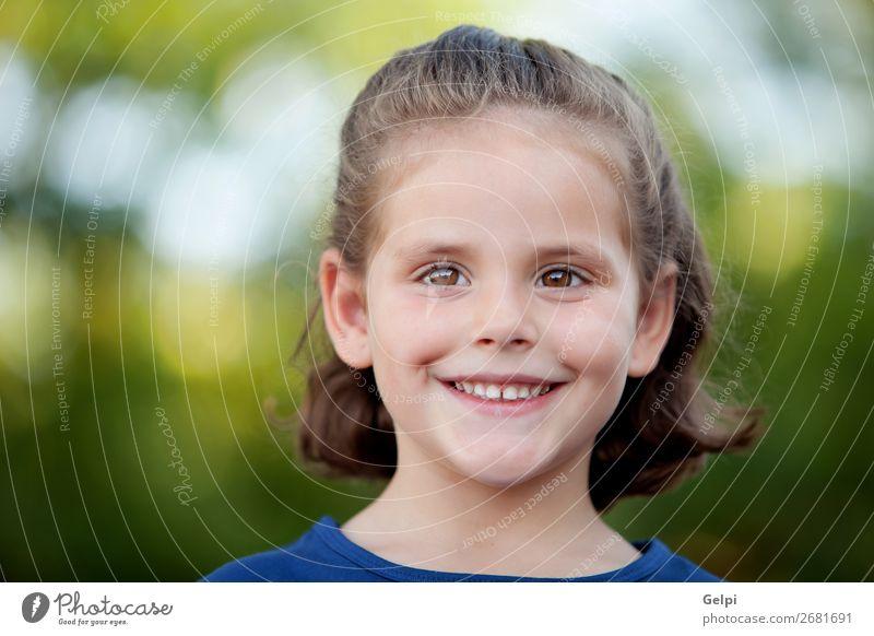 Frau Kind Mensch Natur Sommer Pflanze blau schön grün weiß Blume Freude Gesicht Lifestyle Erwachsene gelb