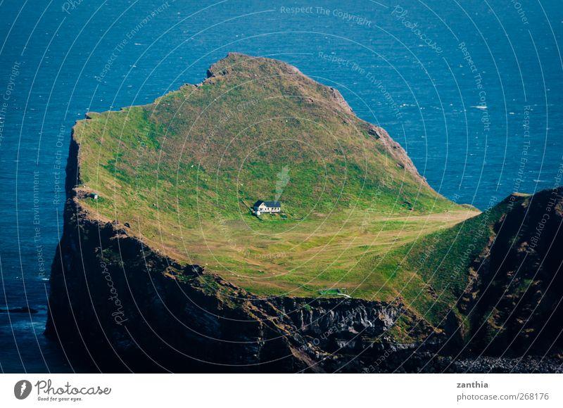 Elliðaey Natur Ferien & Urlaub & Reisen Meer Sommer ruhig Haus Einsamkeit Erholung Küste Freiheit Insel Abenteuer Häusliches Leben Hilfsbereitschaft einzigartig