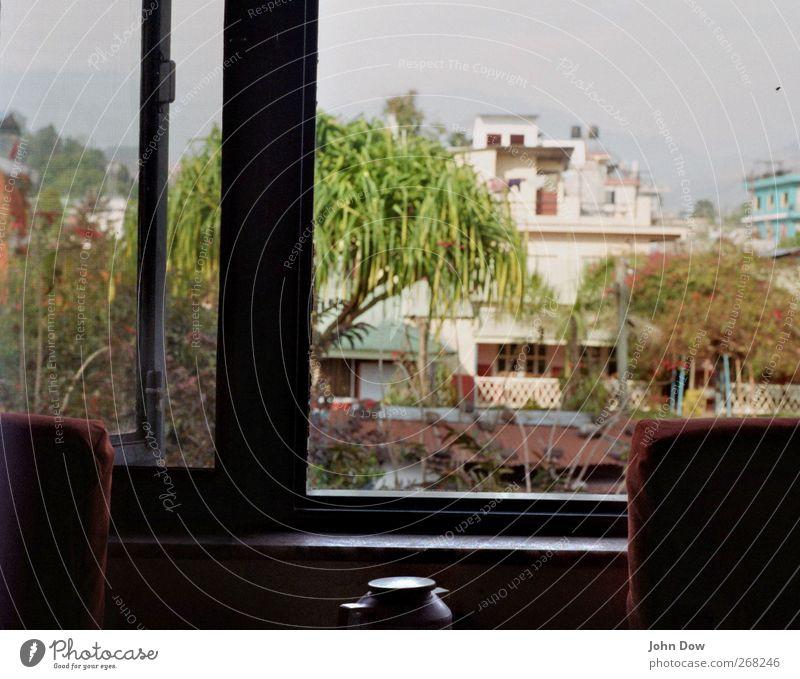 Lakeside Resort Ferien & Urlaub & Reisen Abenteuer Ferne Häusliches Leben Wohnung Himmel Pflanze Baum Haus Hütte exotisch Heimweh Fernweh Nebel Pokhara Aussicht