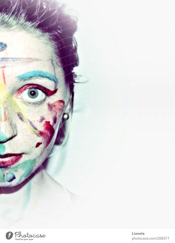 Bunt Freiheit Kunst einzigartig Neugier Inspiration Farbenspiel