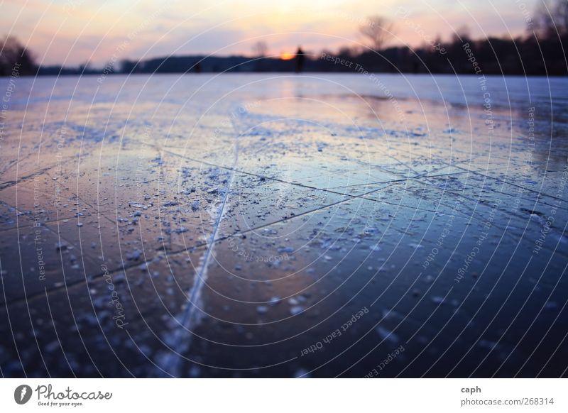 On Ice Himmel Natur Wasser Sonne Winter Umwelt Landschaft kalt Wärme See Horizont Eis Angst Klima Frost fahren