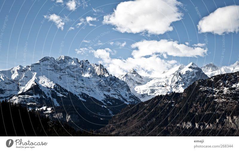 5 Tage lang Himmel Natur blau Winter Wolken Umwelt kalt Schnee Eis Frost Alpen Schönes Wetter Bergkette