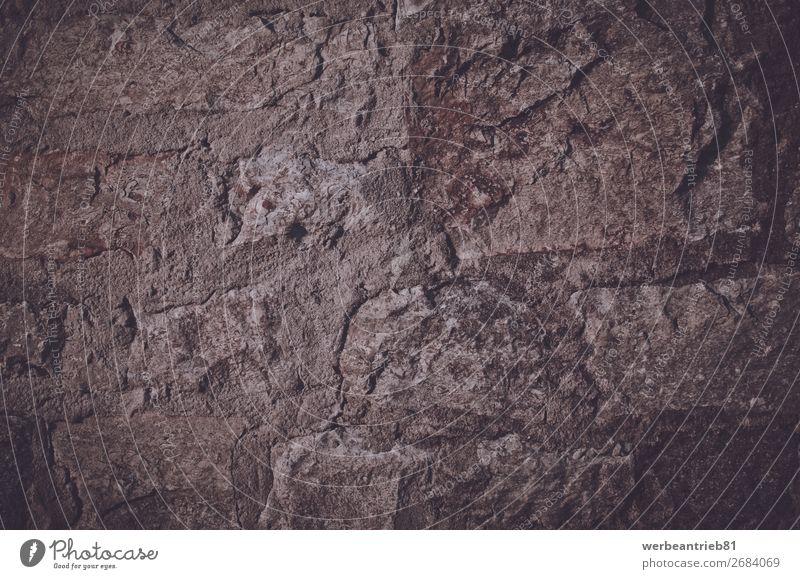 Alter Steintextur-Hintergrund Hintergründe Wand alt dreckig Beton Material Menschenleer abstrakt verwittert texturierte Wirkung altmodisch retro