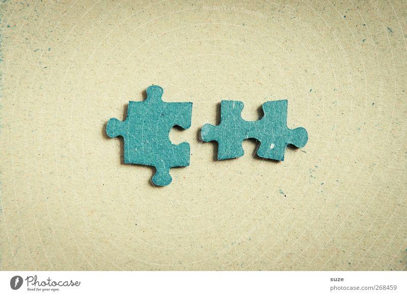 Paarung Freizeit & Hobby Spielen Kinderspiel Spielzeug einfach klein blau Puzzle einzeln paarweise Suche Mitte Teile u. Stücke Rückseite Karton 2 passend