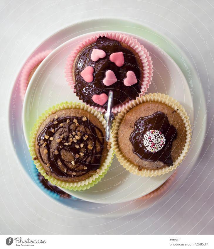 Etagère Ernährung Geschirr Süßwaren lecker Schokolade Dessert Muffin Fingerfood Slowfood