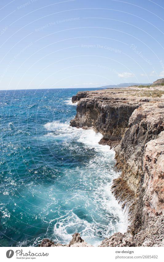 Küste von Kuba Ferien & Urlaub & Reisen Ausflug Abenteuer Freiheit Sommerurlaub Meer Insel Wellen Natur Landschaft Pflanze Frühling wandern Unendlichkeit
