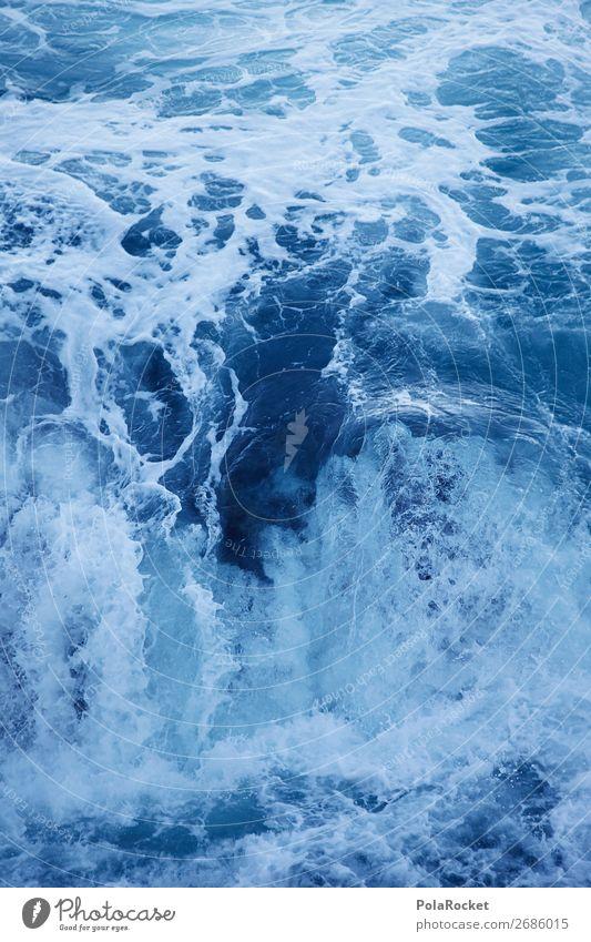 #AS# WasserKraft Kunst ästhetisch Wasseroberfläche Wasserkraftwerk Wasserwirbel Wellen Verwirbelung Wellenbruch Wellental Meer Meerwasser Meerestiefe Farbfoto
