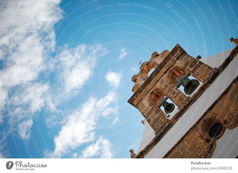 #AS# Glockenspiel Kunstwerk Dorf Kirche Macht Kirchenglocke Himmel Glaube Religion & Glaube antik Mauer Glockenturm Gott Gotteshäuser Gottesdienst Farbfoto