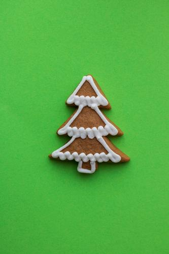 Oh Tannenbaum Teigwaren Backwaren Süßwaren Feste & Feiern Weihnachten & Advent Baum Papier wählen Fröhlichkeit verrückt grün Lebkuchen Strukturen & Formen