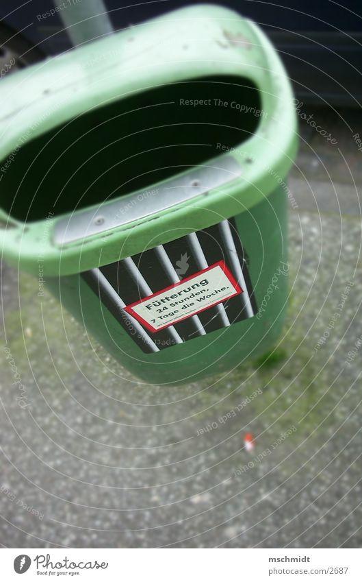 FÜTTERUNG 24 STUNDEN Dinge trashig Müllbehälter Eimer Papierkorb