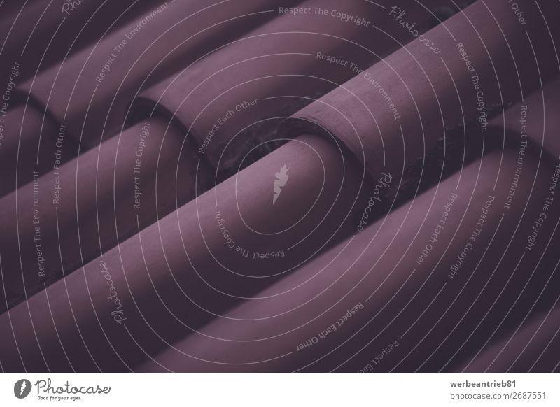 Dachziegel Nahaufnahme Hintergrund Hintergrundbild Strukturen & Formen abstrakt Menschenleer formatfüllend Fliesen u. Kacheln Ziegeldach Makroaufnahme Material