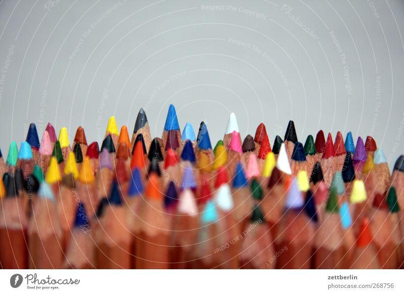Bunt Design Freude Freizeit & Hobby Bildung Schule Büroarbeit Dienstleistungsgewerbe Medienbranche Werbebranche Künstler Printmedien gut schön Farbstift