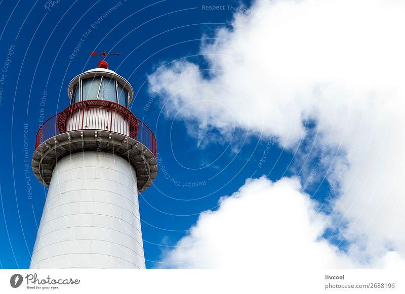 Himmel alt blau Stadt Wolken Gebäude Lampe Hafen Laterne Anlegestelle Leuchtturm Blauer Himmel Höhe Großstadt Australien Pazifik