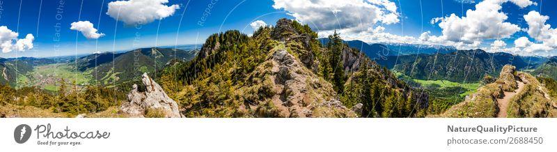Panorama - Footpath - Laber - Oberammergau - Bavaria - Germany Ferien & Urlaub & Reisen Tourismus Abenteuer Ferne Freiheit Sommer Berge u. Gebirge wandern Sport