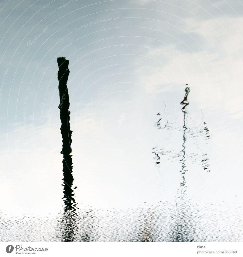 Hafenseelen #2 Himmel Wasser Wolken träumen Stimmung Wellen Urelemente Vertrauen