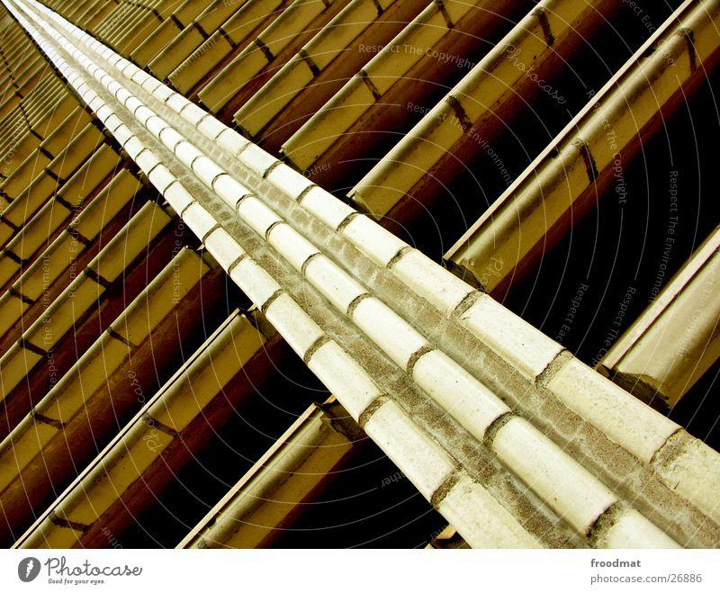 voll schräg Architektur verrückt Perspektive Fliesen u. Kacheln diagonal Geometrie graphisch Finnland Helsinki
