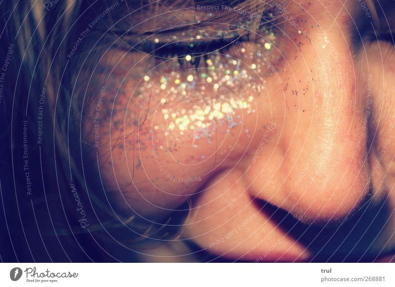 ..bring me a dream schön Haare & Frisuren Haut Gesicht Kosmetik Schminke glänzend feminin Junge Frau Jugendliche Auge Nase Mund Lippen 1 Mensch 18-30 Jahre