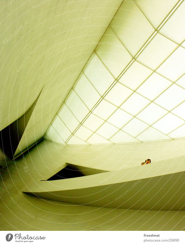 Kiasma - Helsinki #1 Mensch Stil Architektur groß Perspektive Macht Museum schwungvoll Helsinki