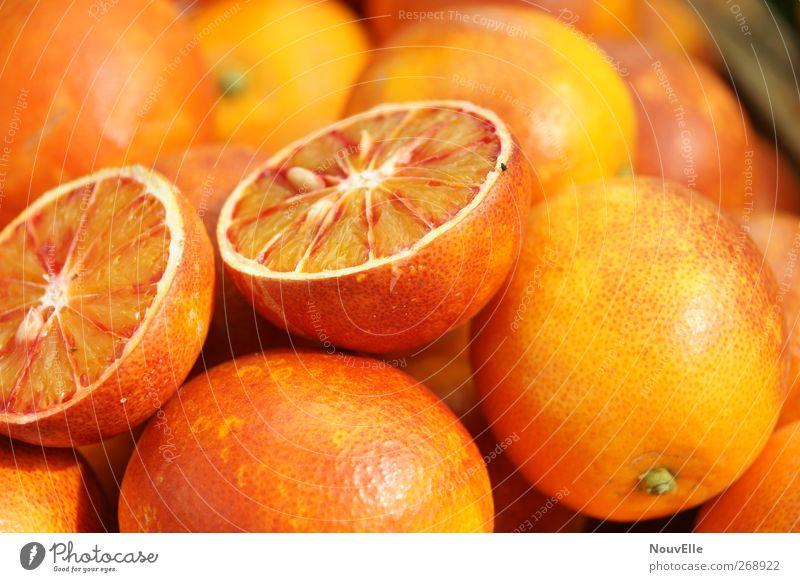 And Oh! rot Wärme Bewegung Glück Gesundheit liegen Zufriedenheit Orange Lebensmittel frisch Ernährung leuchten Leidenschaft entdecken Lebensfreude lecker