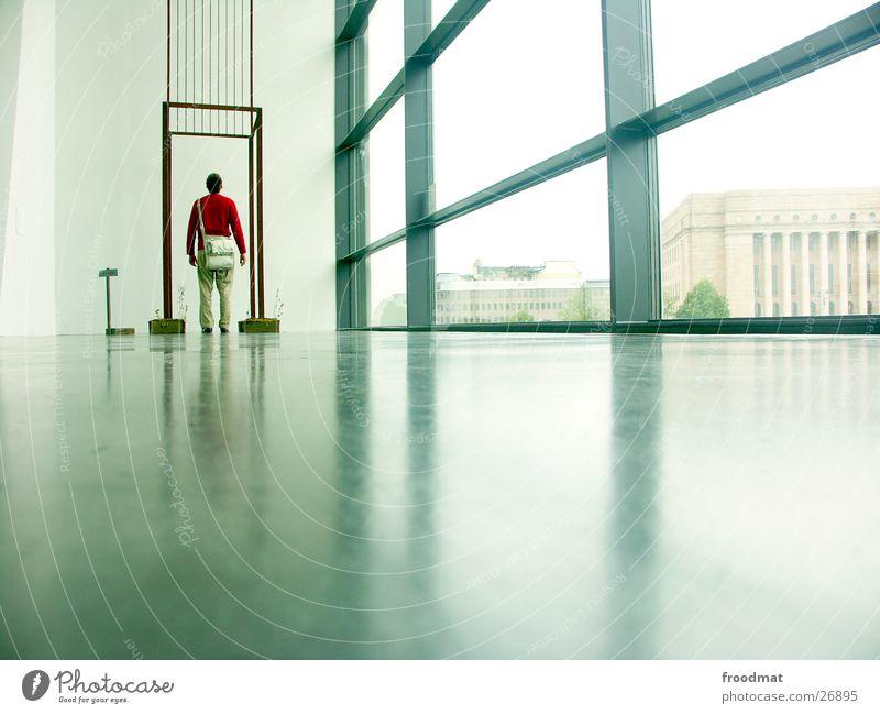 Kiasma - Helsinki #7 Fenster Kunst groß Bodenbelag Messe Ausstellung Finnland Auslöser
