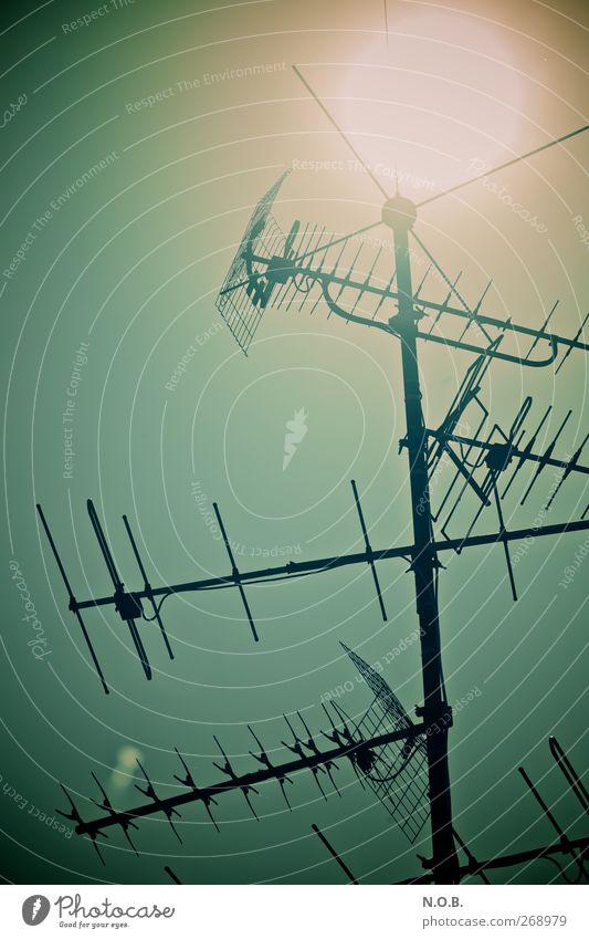 Die Sonne, so nah Himmel Sonne Umwelt Wärme hell Wetter Energiewirtschaft Energie Zukunft Telekommunikation Kommunizieren Technik & Technologie Schönes Wetter Fernseher heiß Sonnenenergie