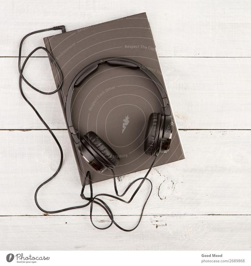 weiß schwarz Holz Spielen Schule Freizeit & Hobby Aussicht Musik Technik & Technologie lernen Buch Papier Idee lesen Information hören