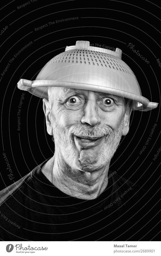 Mensch Mann weiß Freude Gesicht Erwachsene Traurigkeit lustig Gefühle verrückt Krankheit Wut Stress Irritation bizarr Krankenhaus