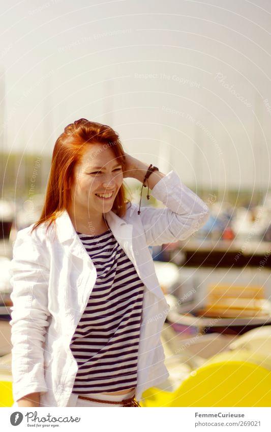 Honey. Mensch Frau Natur Jugendliche Ferien & Urlaub & Reisen Sommer Meer Strand Erwachsene feminin Stil See Junge Frau Freizeit & Hobby elegant 18-30 Jahre
