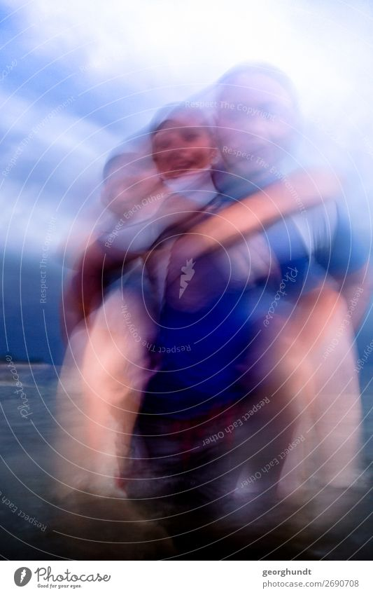 Sturmbad II Lifestyle Ferien & Urlaub & Reisen Tourismus Ausflug Abenteuer Freiheit Sport Fitness Sport-Training Mensch maskulin feminin Junge Frau Jugendliche