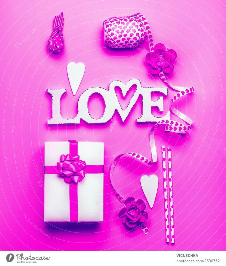Wort Love, Geschenkbox und Dekoration , Neonfarbe kaufen Design Freude Dekoration & Verzierung Entertainment Party Veranstaltung Feste & Feiern Valentinstag
