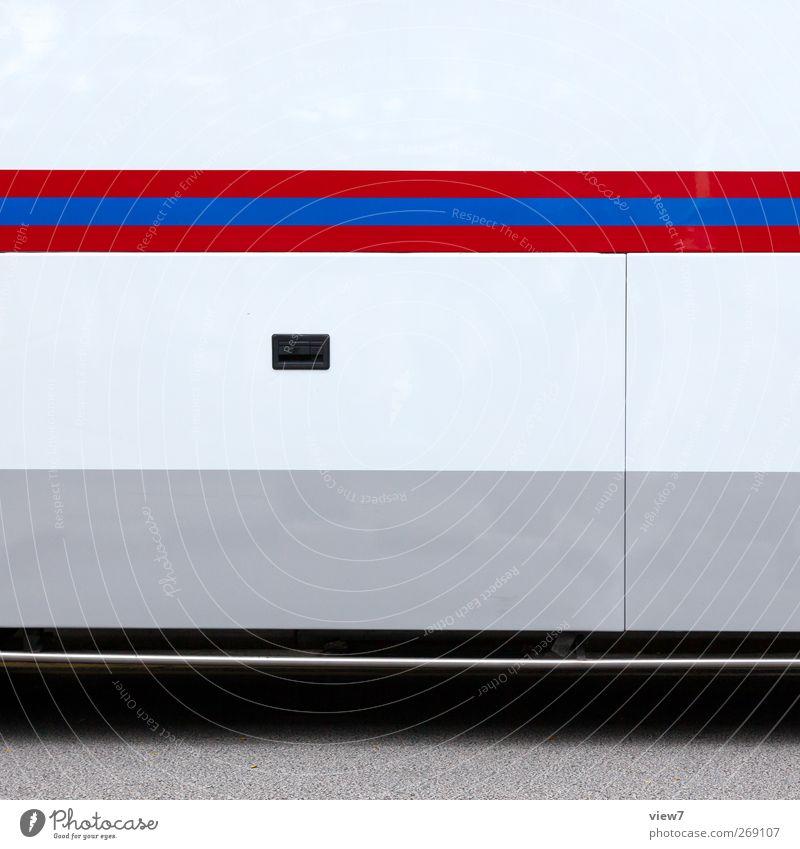 city express Farbe Metall Linie Ordnung Beginn Verkehr modern frisch ästhetisch authentisch Streifen einzigartig Grafik u. Illustration einfach rein Fahrzeug