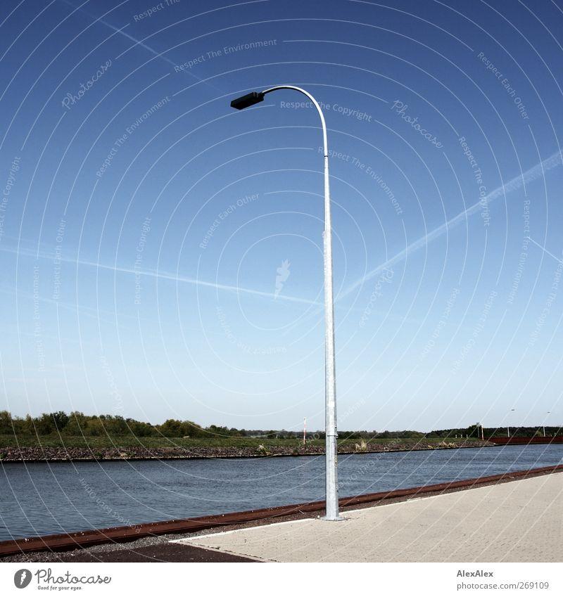 Logistik kanalisiert Himmel blau Wasser grün Pflanze Landschaft Bewegung Wege & Pfade Sand Stein Luft Metall Linie Horizont Erde Schwimmen & Baden
