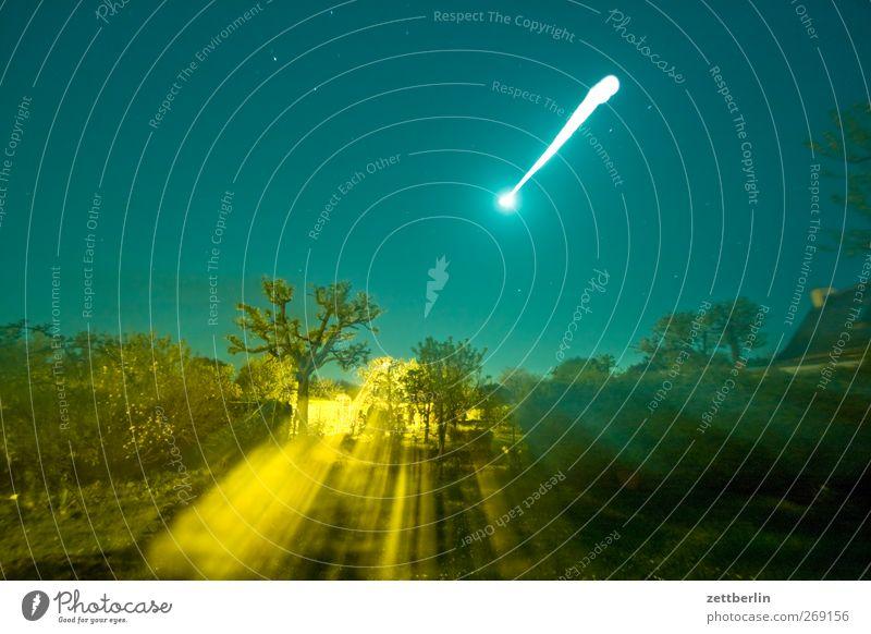 Mond Ferien & Urlaub & Reisen Abenteuer Sommer Garten Umwelt Natur Frühling Klima Klimawandel Wetter Wiese Wachstum außergewöhnlich gartenkolonie himmel