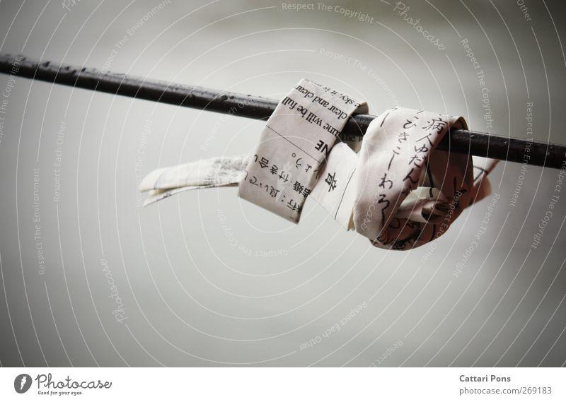 all our wishes. Glück hängen authentisch einfach Zusammensein einzigartig nah Originalität positiv Hoffnung Glaube Papier Schriftzeichen Zeichen Japanisch