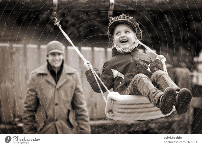 pure Lebensfreude Freude Freizeit & Hobby Spielen Mensch maskulin feminin Kind Mädchen Junger Mann Jugendliche Vater Erwachsene Familie & Verwandtschaft