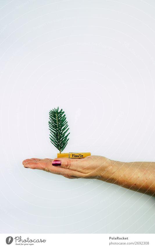 #S# Weihnachten auf den Punkt gebracht. Mensch Eltern Erwachsene Familie & Verwandtschaft authentisch Weihnachten & Advent Weihnachtsbaum grün minimalistisch