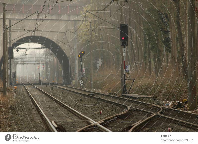 Nebelbahn Industrie Landschaft Verkehr Verkehrswege Personenverkehr Öffentlicher Personennahverkehr Berufsverkehr Güterverkehr & Logistik Schienenverkehr S-Bahn