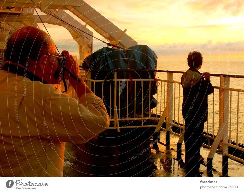 asian photography #1 Fotografieren Sonnenuntergang Wasserfahrzeug Japan Asiate Visier Reflexion & Spiegelung Meer Romantik Urlaubsfoto Mensch Abenddämmerung