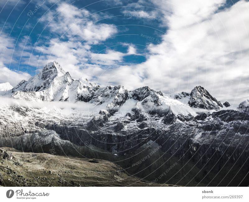 Peru Mountain Explorers Umwelt Natur Landschaft Baum Hügel Felsen Alpen Berge u. Gebirge Gipfel Schneebedeckte Gipfel Gletscher Ferien & Urlaub & Reisen wandern
