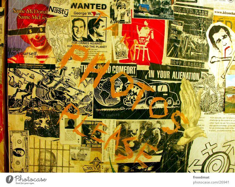 Terror-Bush #2 Tod Kunst Fotografie Hoffnung Amerika Gebet gegen Politik & Staat Ausstellung Kriminalität protestieren Terror Collage