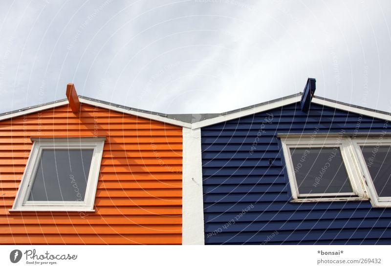 nachbarn Farbe Haus Fenster Holz Zusammensein Wohnung Fassade Häusliches Leben Design Dach einzigartig Freundlichkeit Zusammenhalt eckig Konkurrenz Hafenstadt