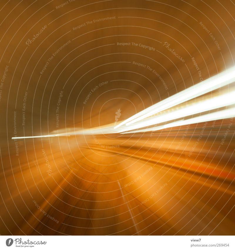 flash Verkehr Verkehrswege Schienenverkehr Eisenbahn authentisch einfach elegant Fröhlichkeit frisch einzigartig modern retro Geschwindigkeit gelb Bahn Licht