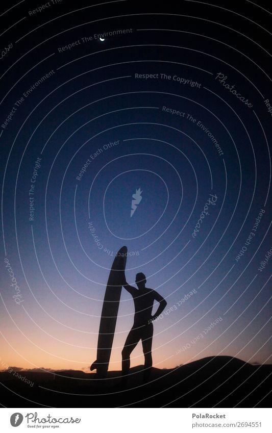 #AS# hang loose Mann Religion & Glaube Kunst maskulin ästhetisch Idylle Romantik Model Kunstwerk Surfen Wassersport Surfer Surfbrett Extremsport Surfschule