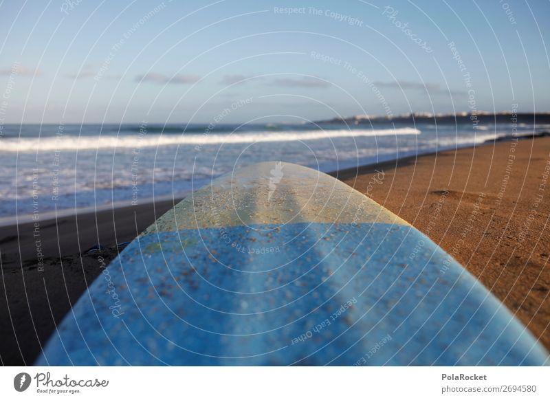 #AS# StrandGut Umwelt Natur ästhetisch Surfen Surfer Surfbrett Surfschule Sommer Sommerurlaub Fuerteventura Meer Strandleben Farbfoto Gedeckte Farben