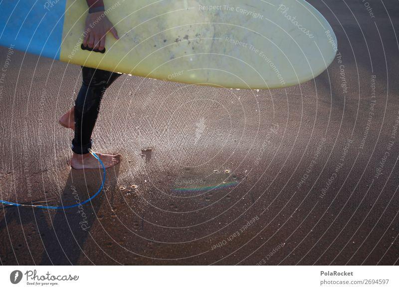 #AS# walking board 1 Mensch ästhetisch Surfen Surfer Surfbrett Surfschule Ferien & Urlaub & Reisen Urlaubsfoto Urlaubsstimmung Wassersport sportlich Sport