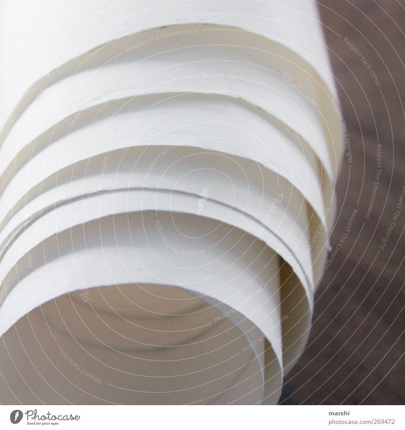 Raum für viele Worte weiß leer Zeichen Tapete Rolle gerollt Papierrollen