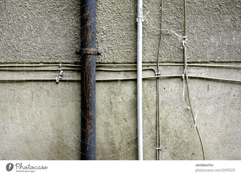 Versorgung Häusliches Leben Wohnung Haus Handwerker Wirtschaft Industrie Baustelle Energiewirtschaft Verantwortung gewissenhaft Vorsicht geduldig ruhig Kabel
